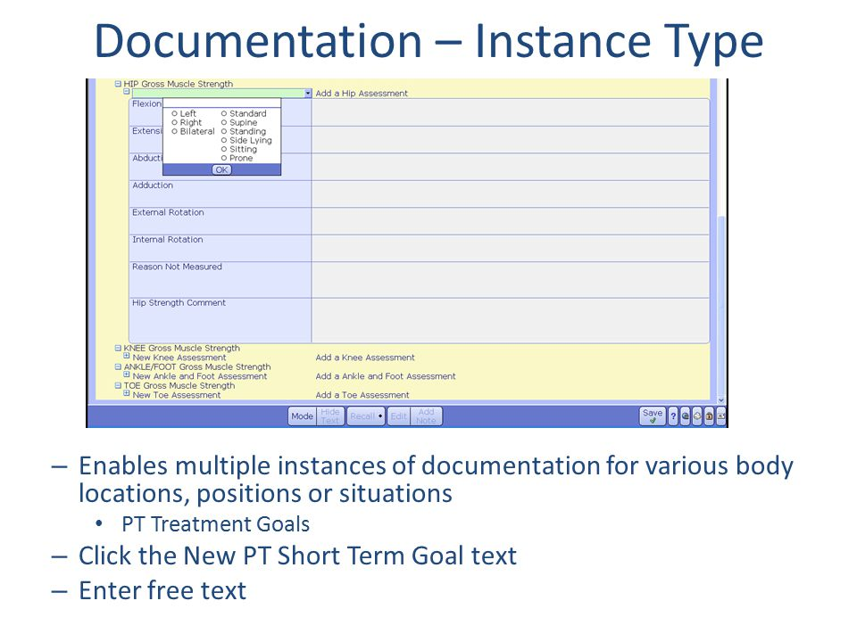 Documentation – Instance Type