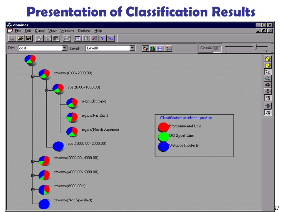 Presentation of Classification Results