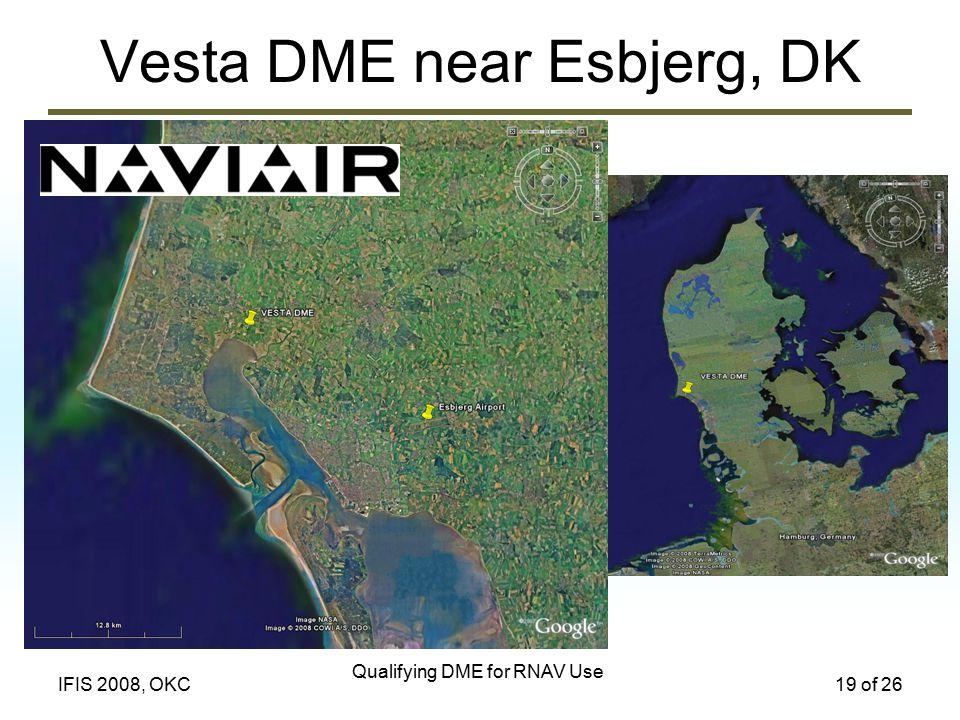 Vesta DME near Esbjerg, DK