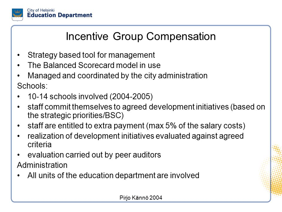 Targets of school audits in 1997-2004