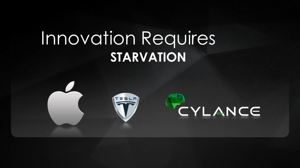 Innovation Requires STARVATION