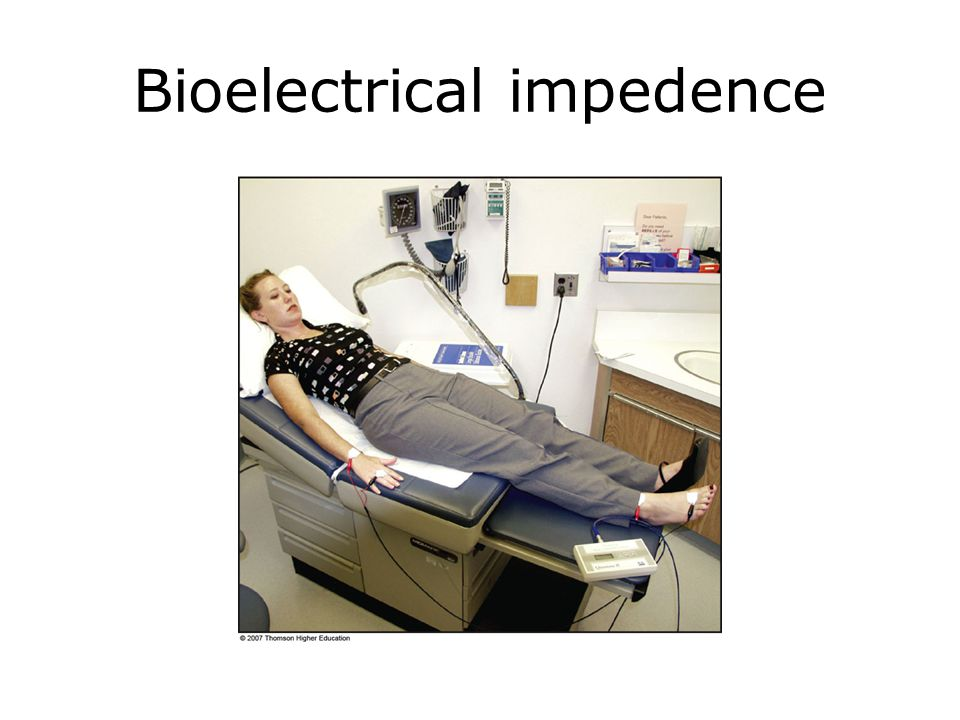 Bioelectrical impedence