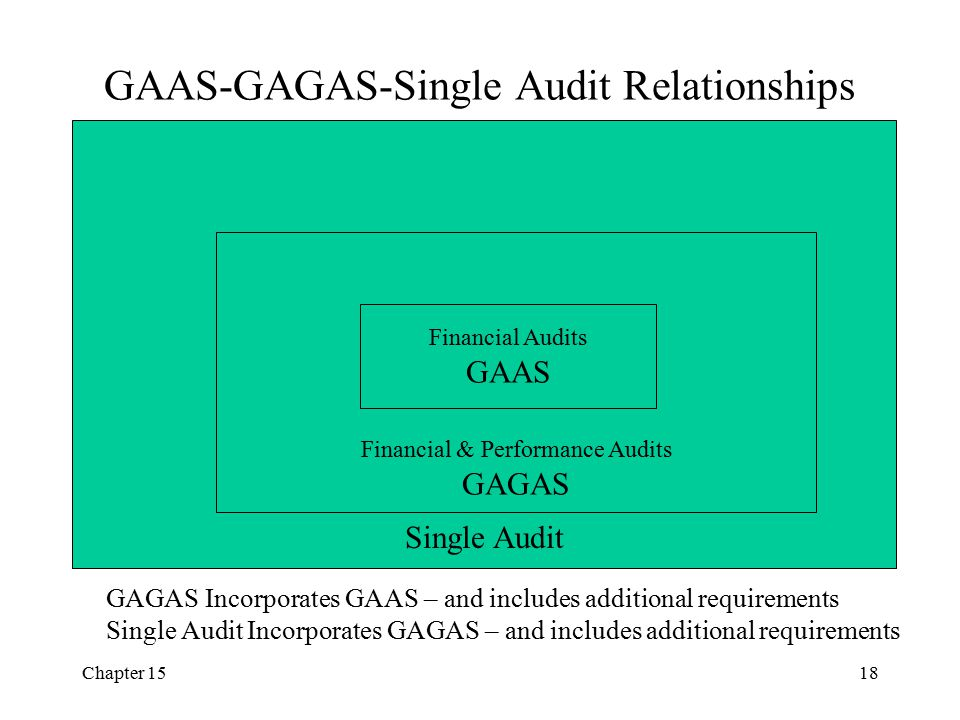 GAAS-GAGAS-Single Audit Relationships