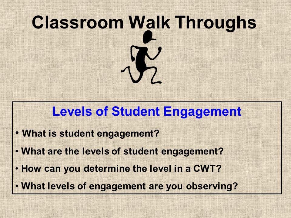 Classroom Walk Throughs