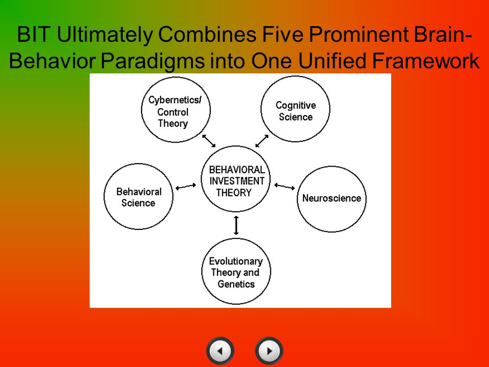 BIT Ultimately Combines Five Prominent Brain-Behavior Paradigms into One Unified Framework