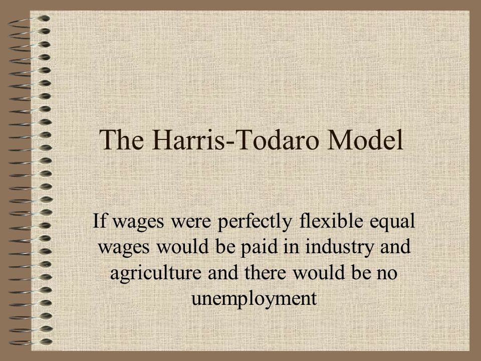 The Harris-Todaro Model