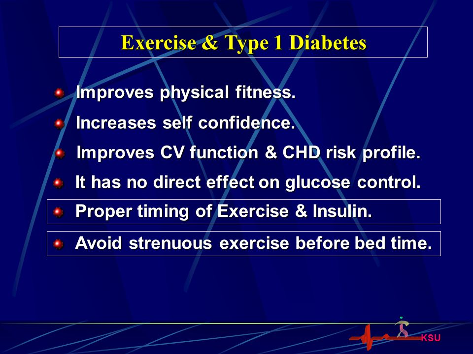 Exercise & Type 1 Diabetes