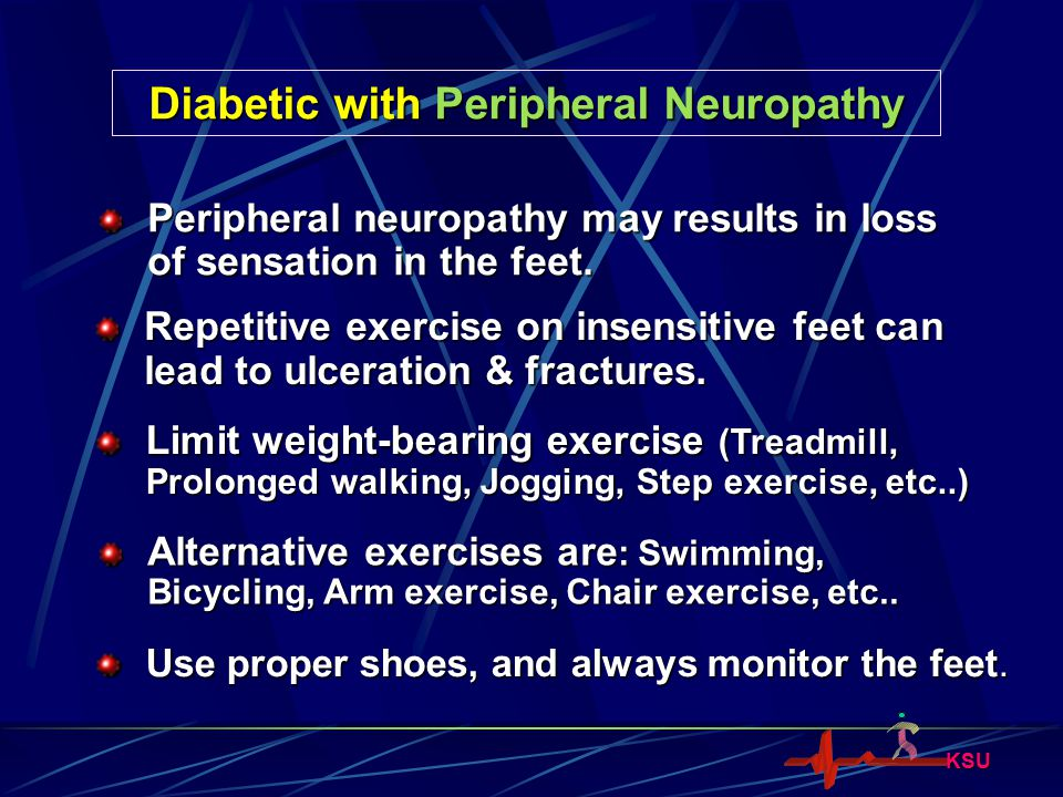 Diabetic with Peripheral Neuropathy