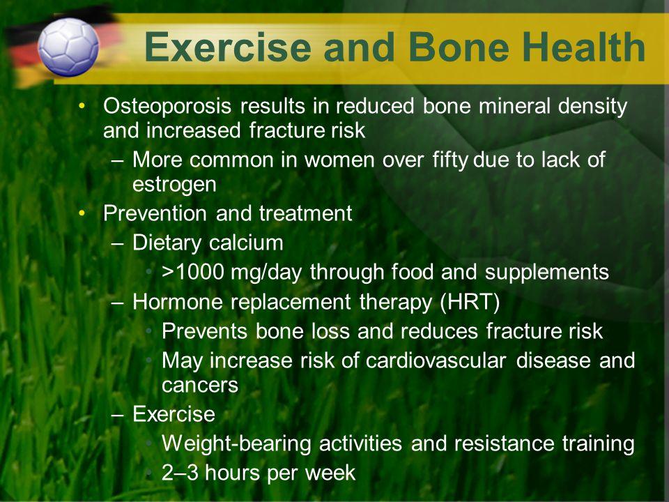 Exercise and Bone Health