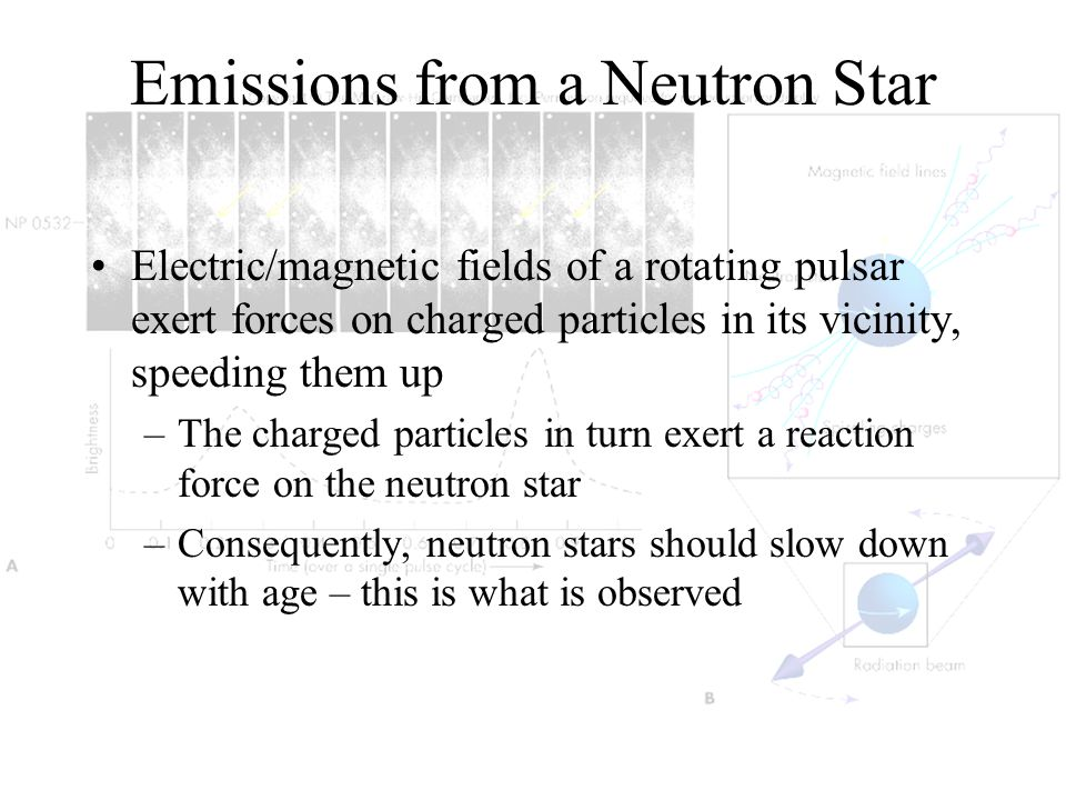 Emissions from a Neutron Star