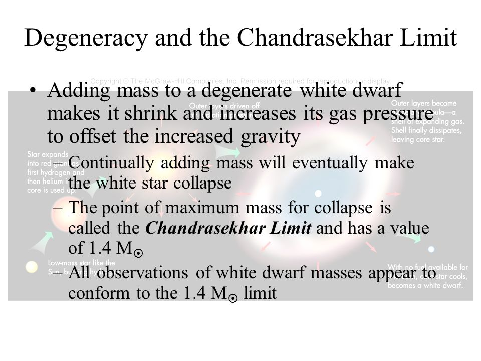 Degeneracy and the Chandrasekhar Limit