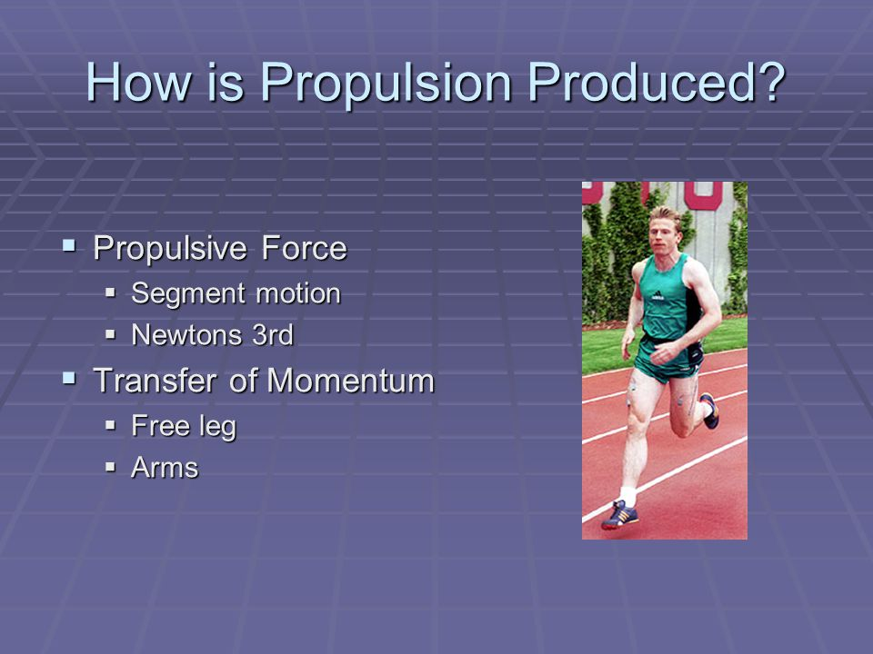 How is Propulsion Produced