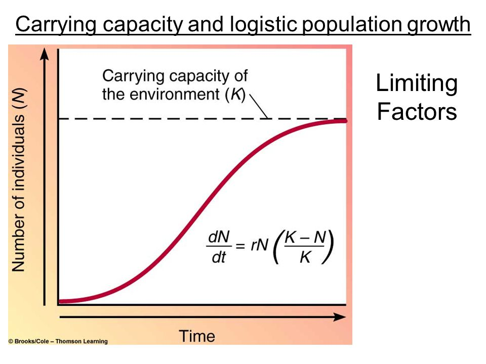 Carrying capacity and logistic population growth