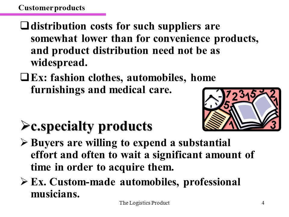 Customer products