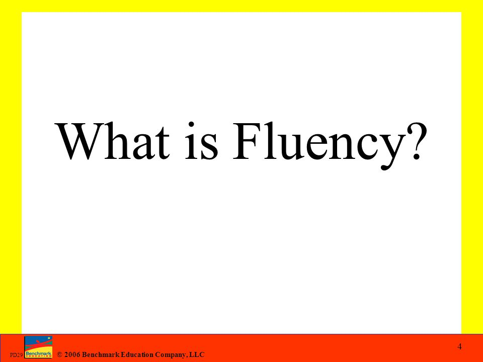 What is Fluency
