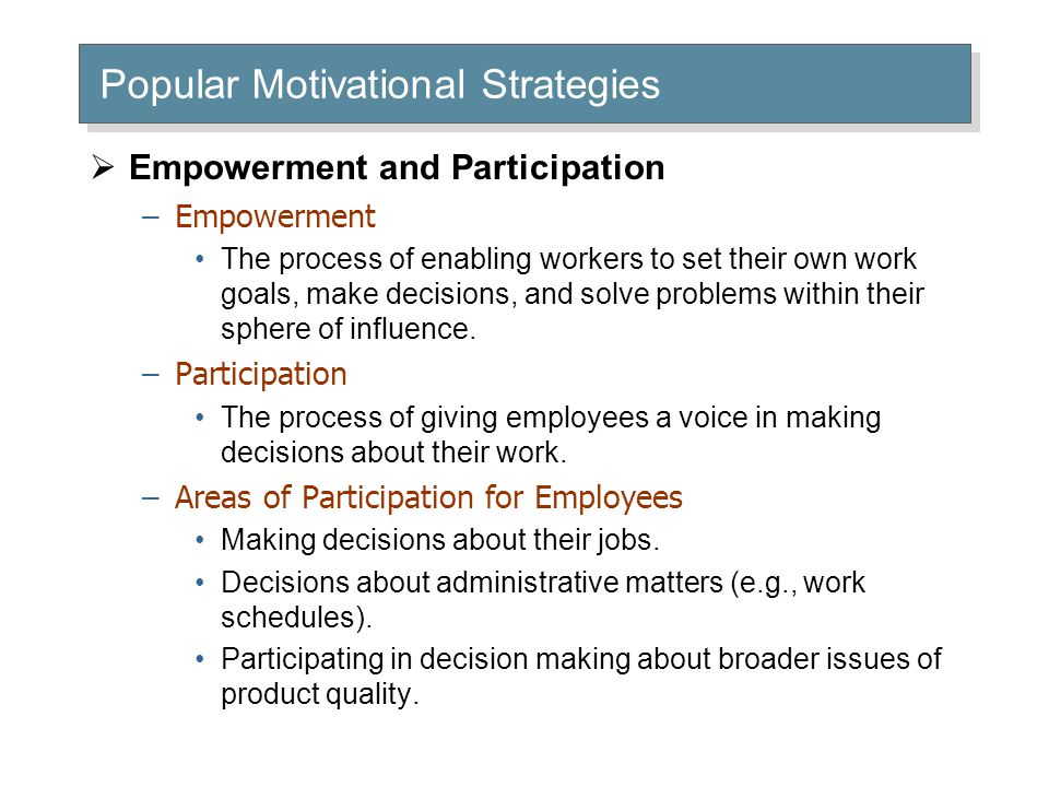 Actions That Empower Employees