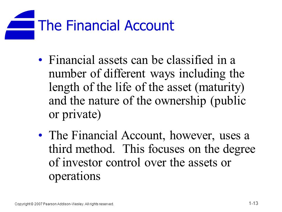 The Financial Account