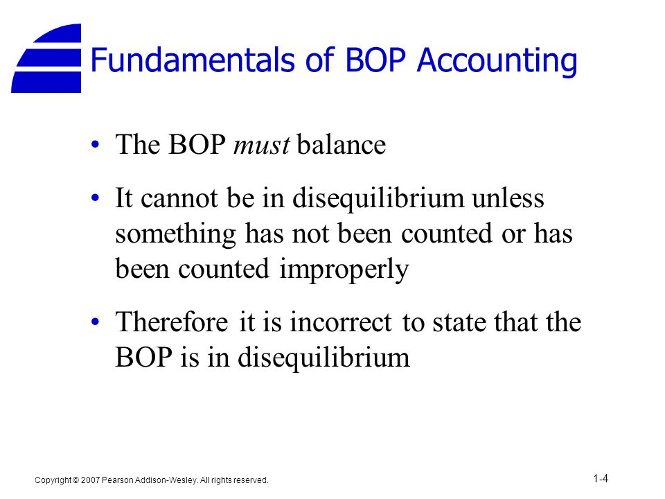 Fundamentals of BOP Accounting