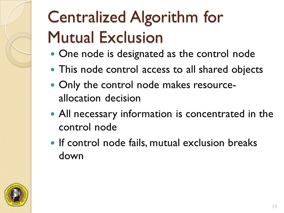Centralized Algorithm for Mutual Exclusion