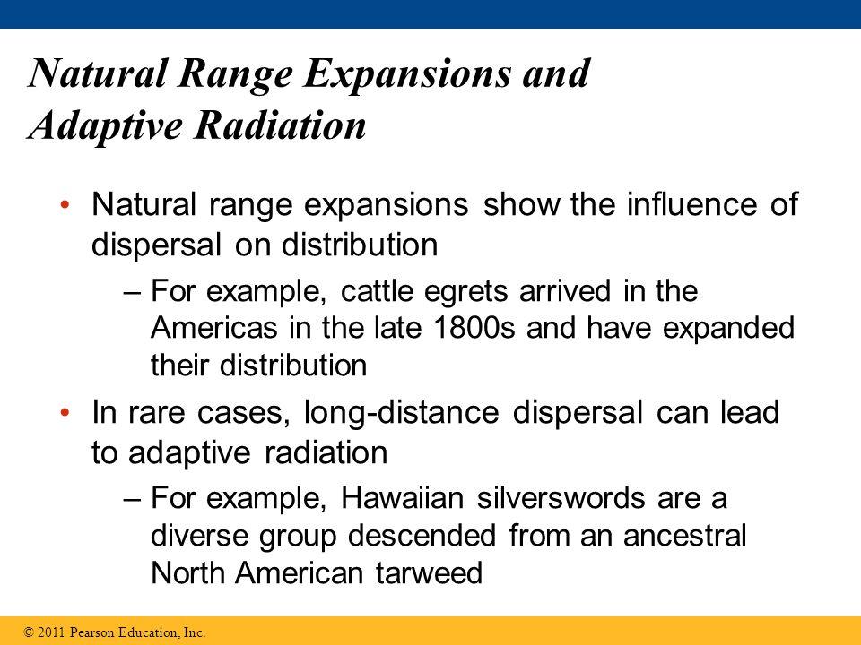 Natural Range Expansions and Adaptive Radiation