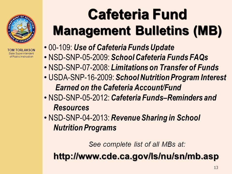 Management Bulletins (MB)
