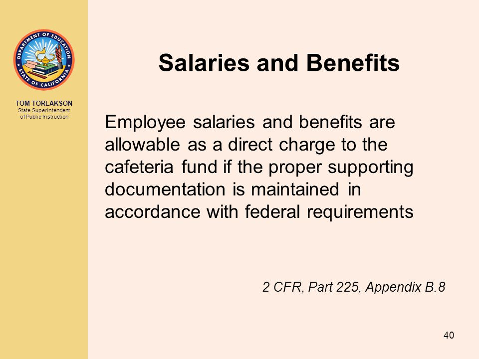 Salaries and Benefits
