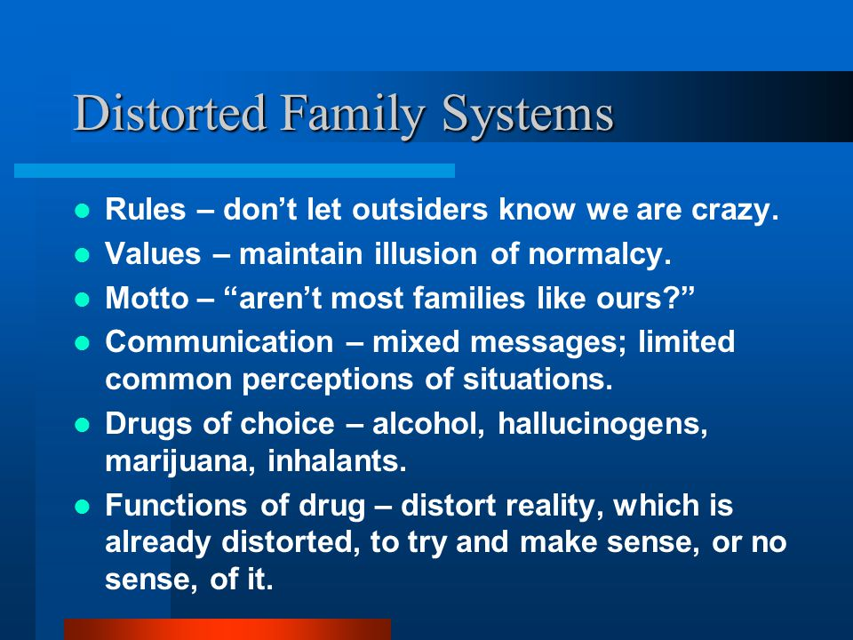 Distorted Family Systems