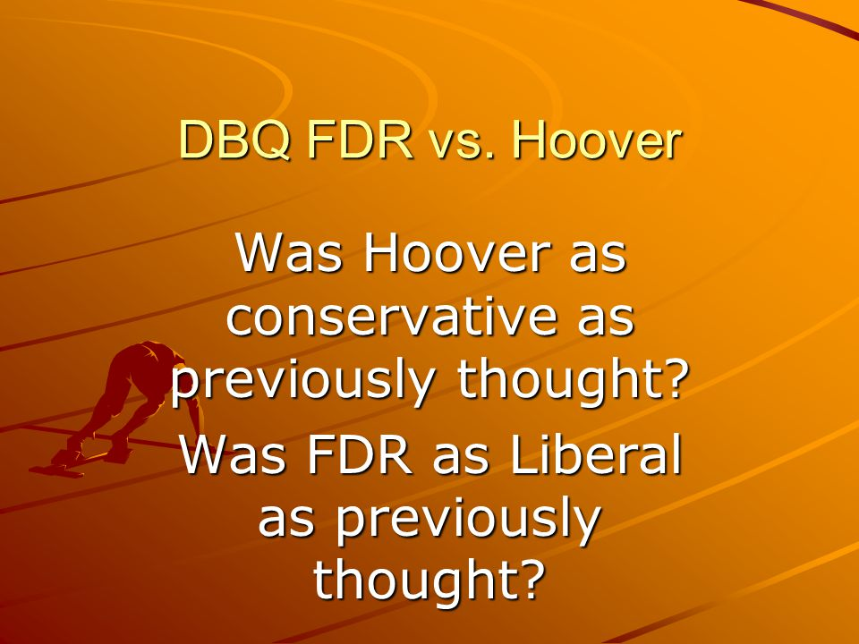 Was Hoover as conservative as previously thought