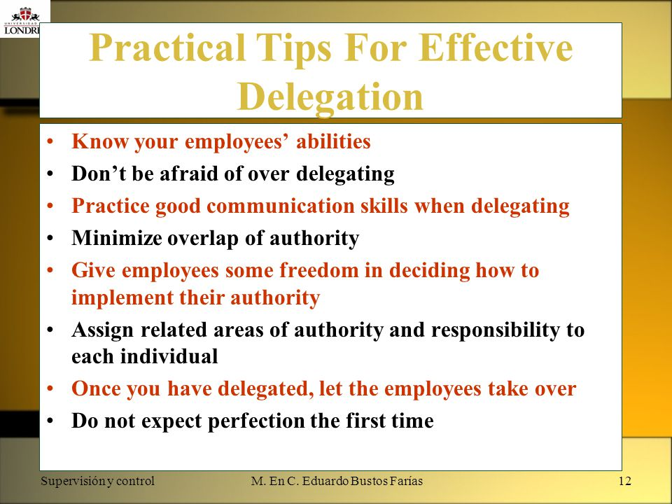Practical Tips For Effective Delegation