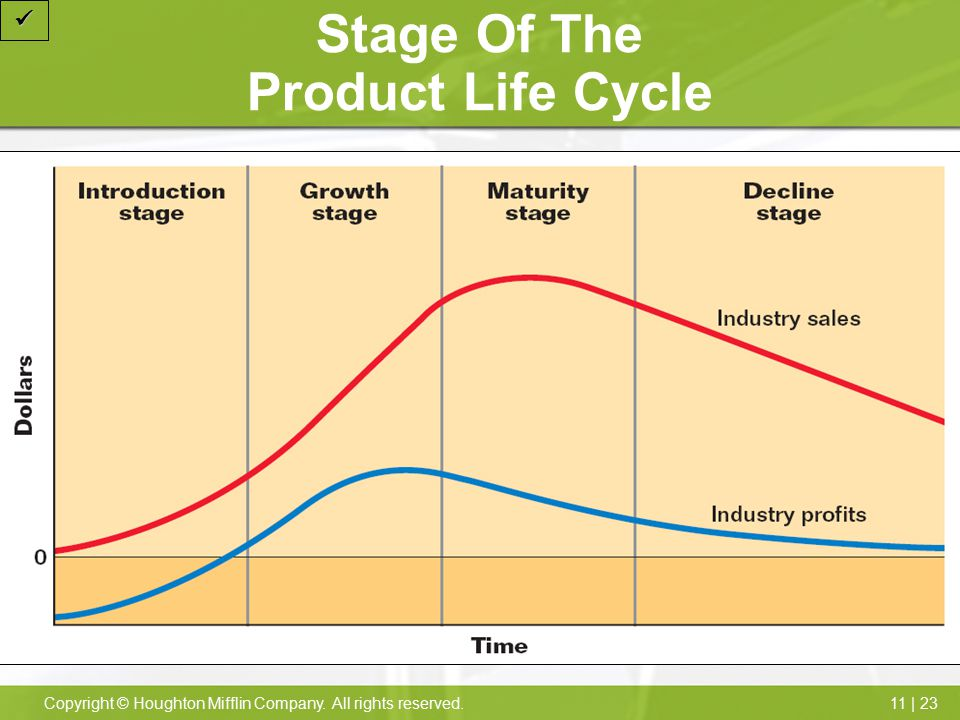 Stage Of The Product Life Cycle