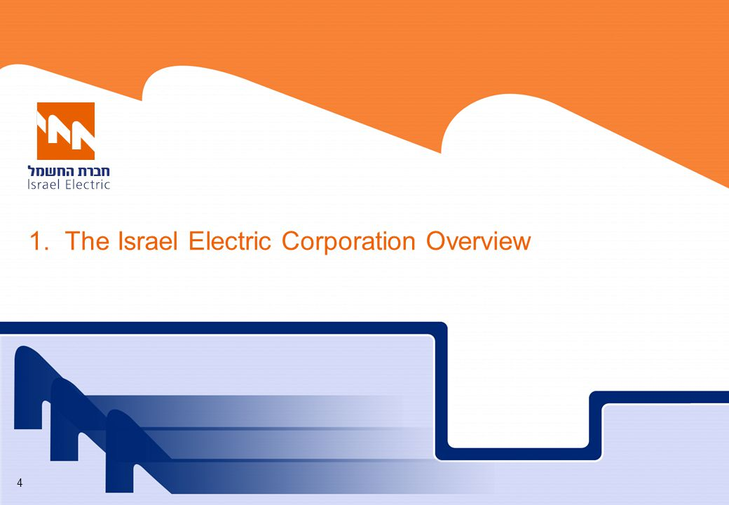 1. The Israel Electric Corporation Overview