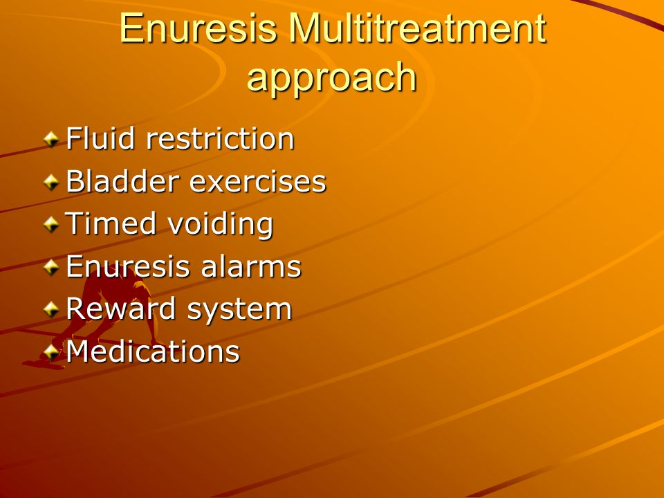 Enuresis Multitreatment approach