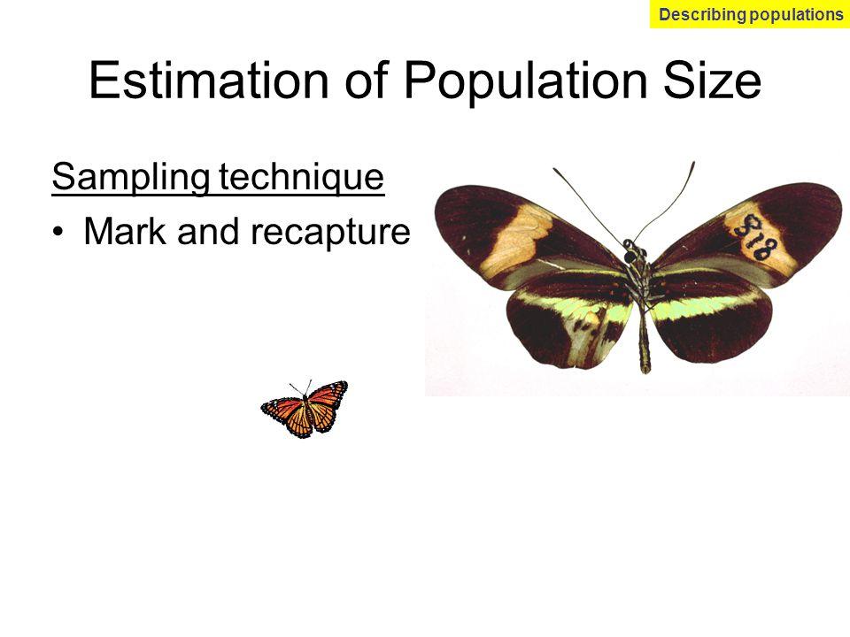 Estimation of Population Size