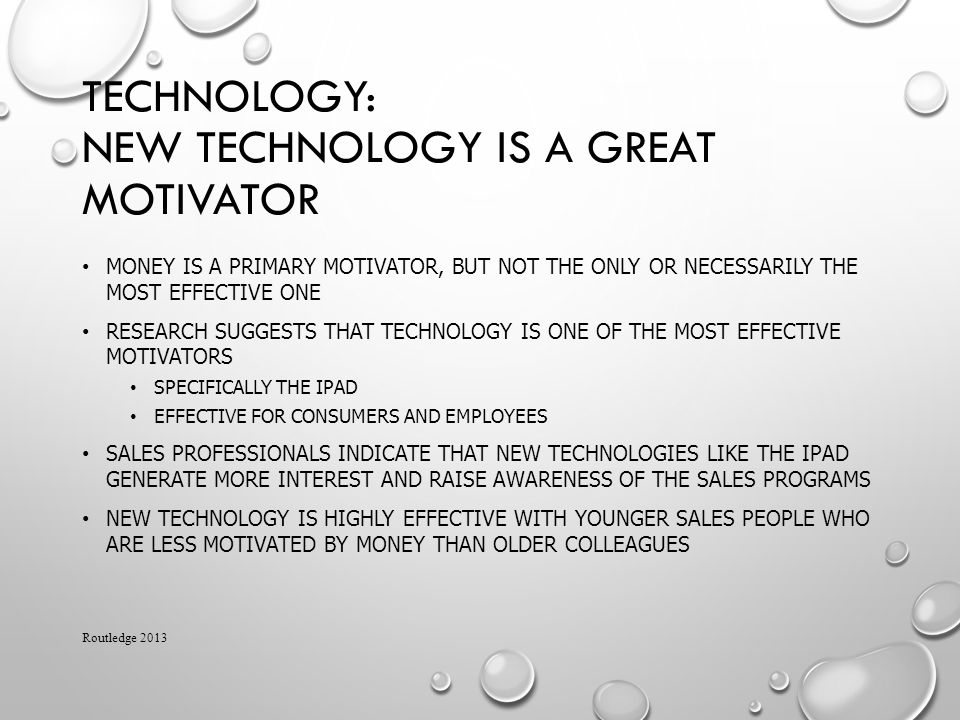 Technology: New Technology is a Great Motivator