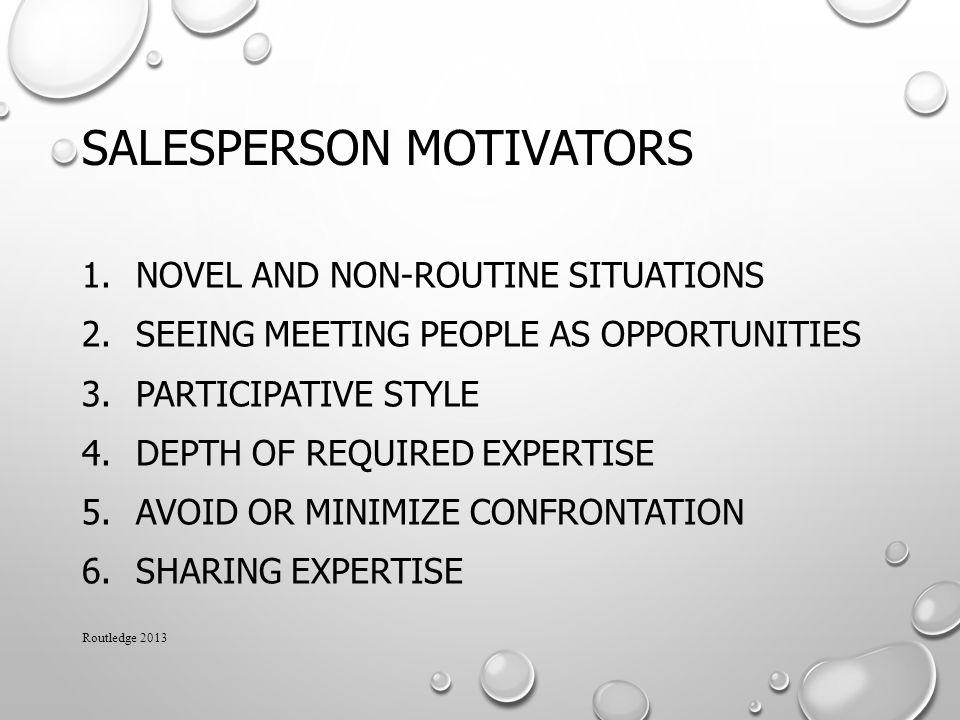 Salesperson Motivators