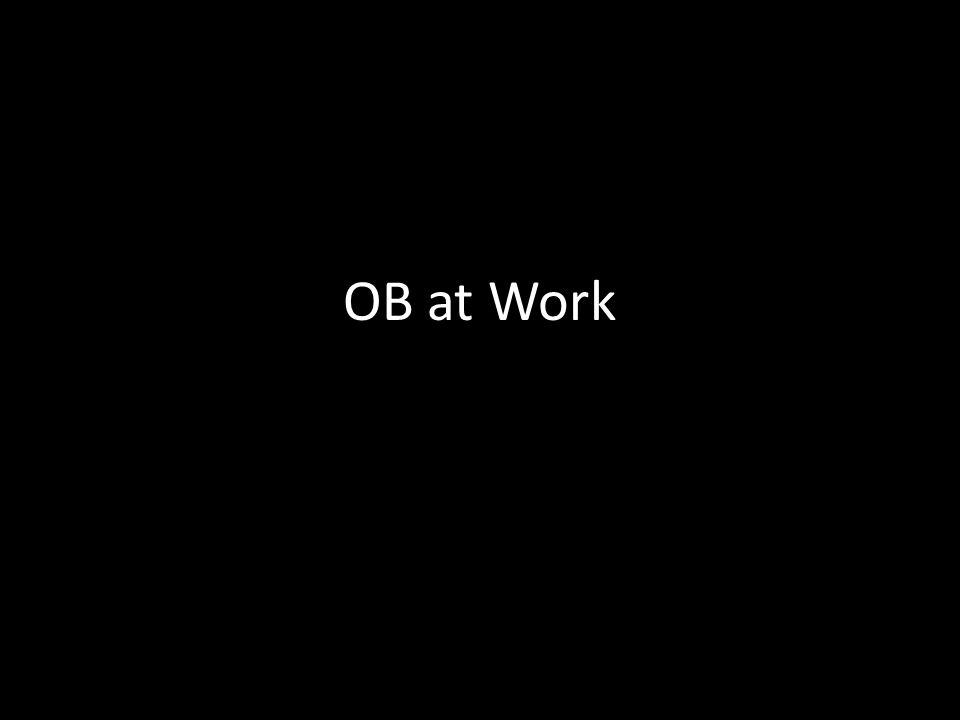 OB at Work