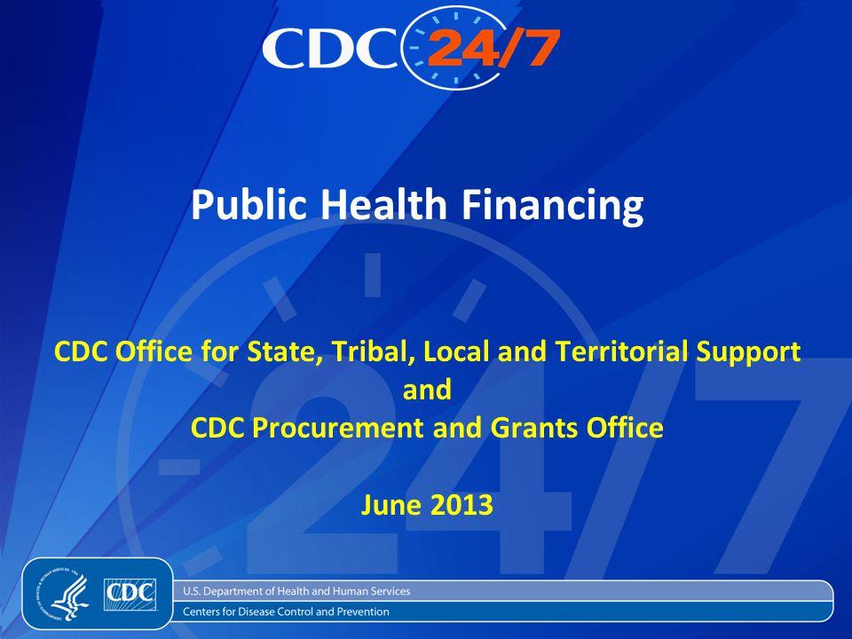 Public Health Financing
