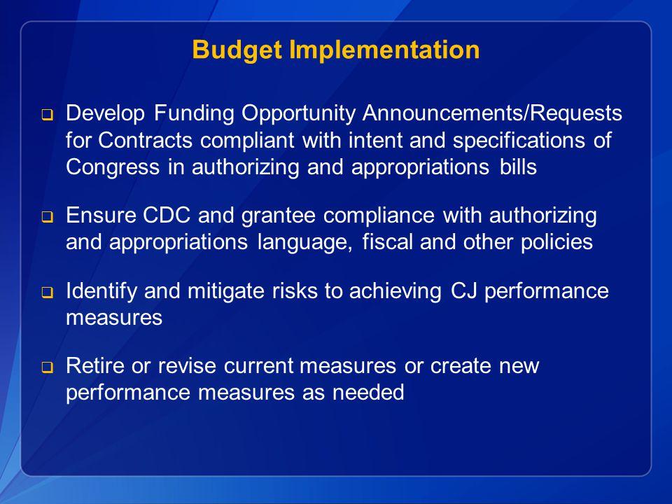 Budget Implementation