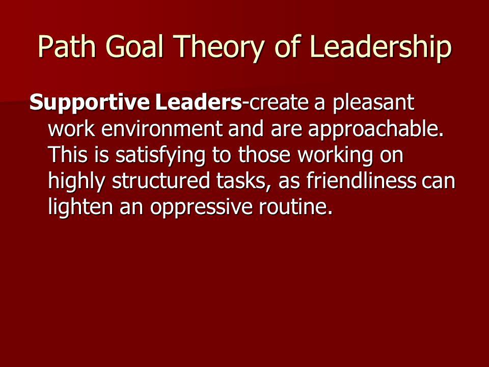 Path Goal Theory of Leadership