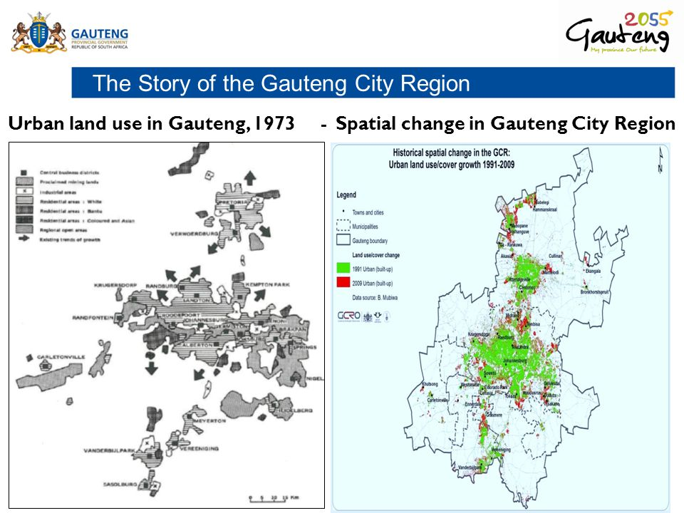 The Story of the Gauteng City Region