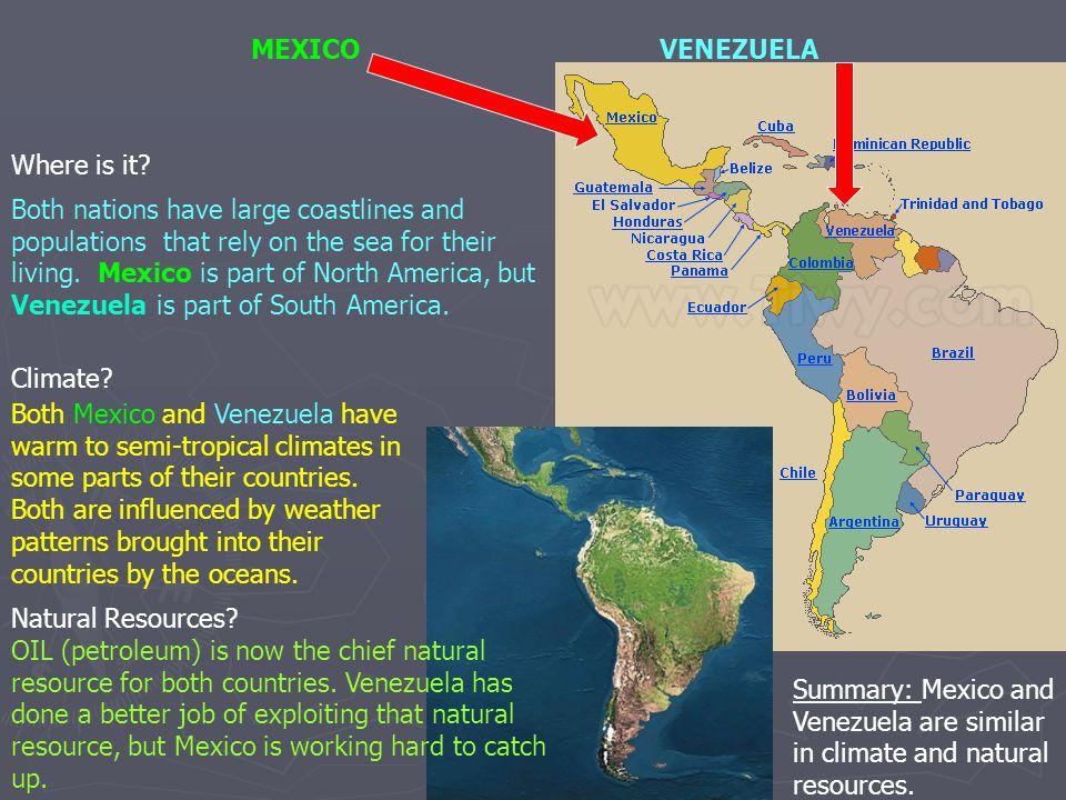MEXICO VENEZUELA. Where is it