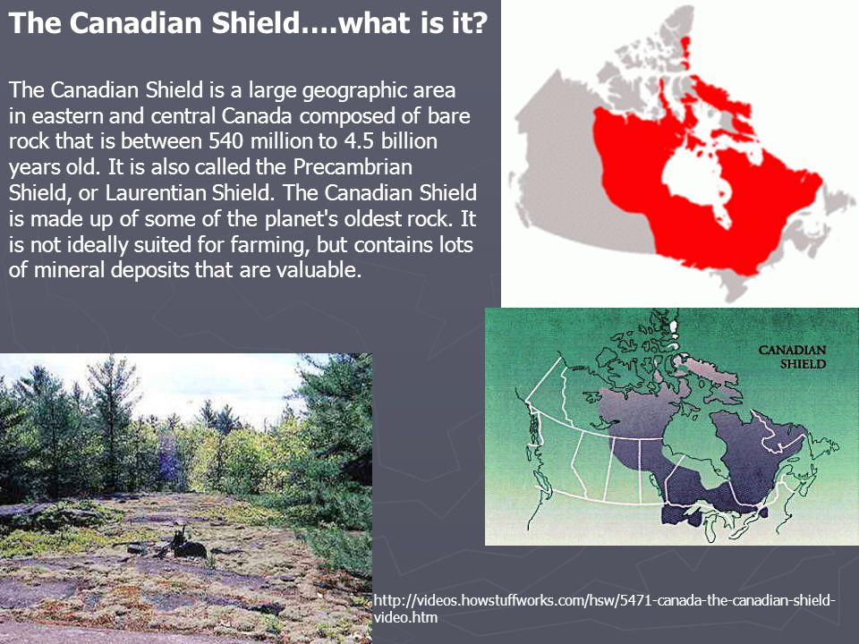 The Canadian Shield….what is it