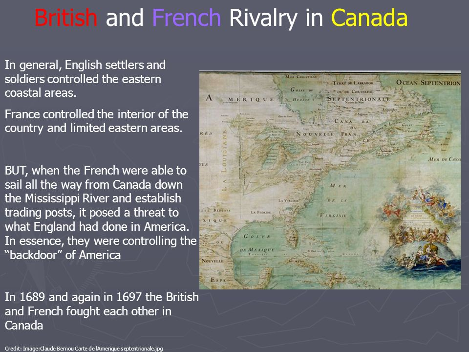 British and French Rivalry in Canada