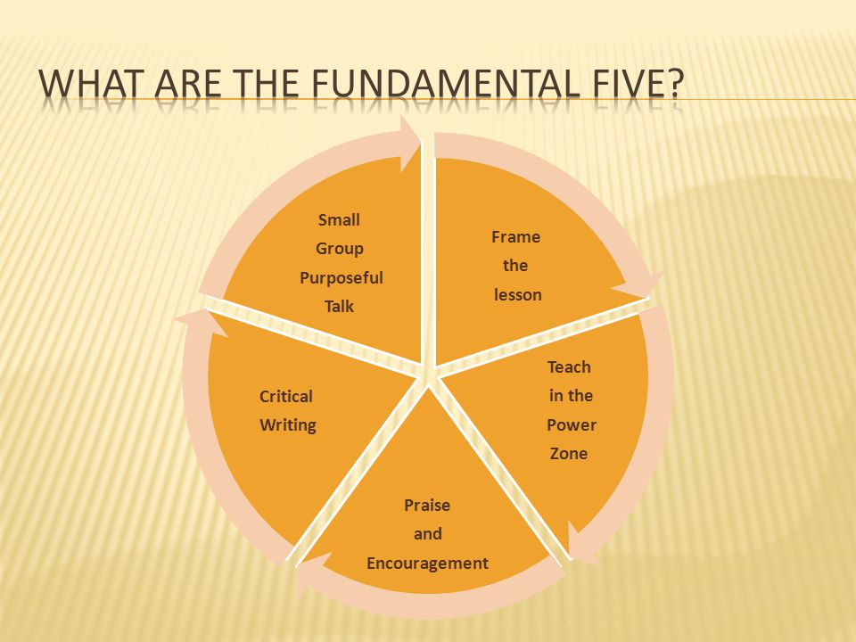 What are the Fundamental Five