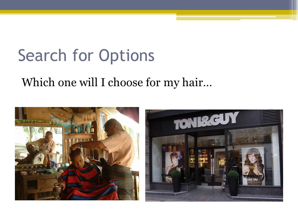 Search for Options Which one will I choose for my hair…
