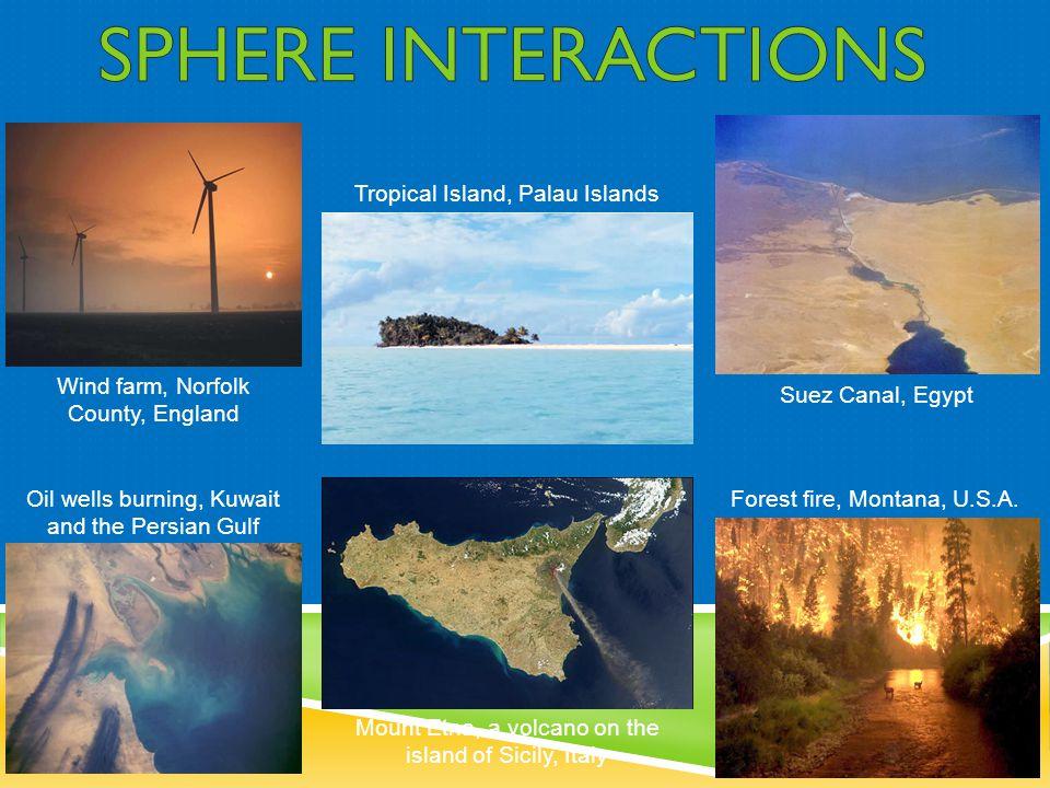 SPHERE INTERACTIONS Tropical Island, Palau Islands