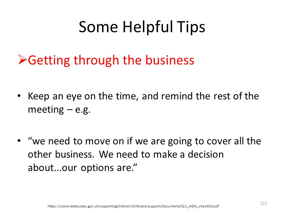 Some Helpful Tips Getting through the business