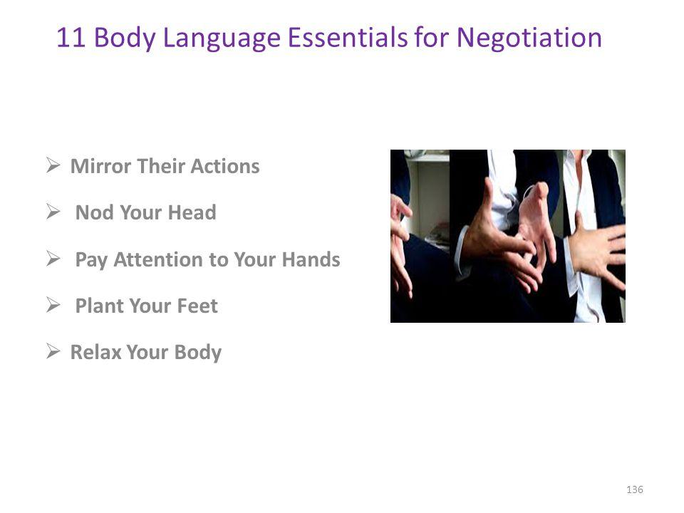 11 Body Language Essentials for Negotiation