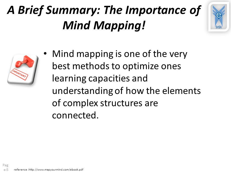A Brief Summary: The Importance of Mind Mapping!