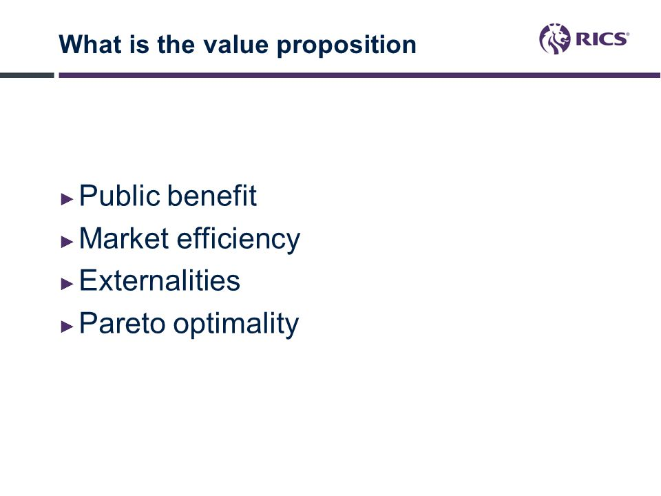 What is the value proposition